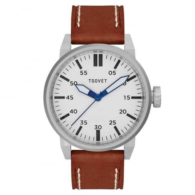 """I'm a big fan of this watch. It's simple, and most importantly, easy to read at a glance. I'd be pretty happy if someone gave it to me."" Tsovet Watch ($325)"