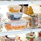Borosilicate Glass Square Food Storage