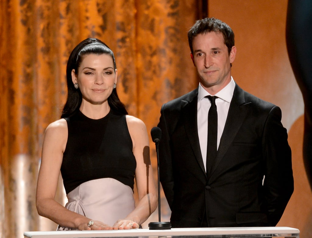 Julianna Margulies and Noah Wyle presented together at the SAG Awards.