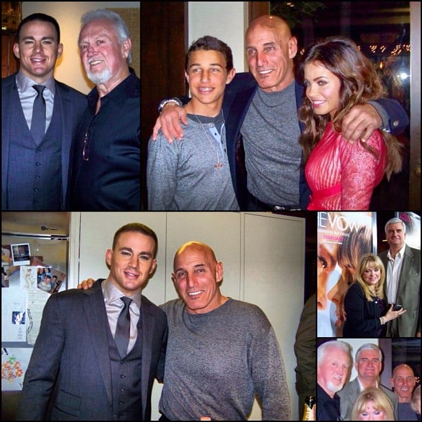 Channing Tatum and Jenna Dewan posted photos of their dads on Instagram. Source: Instagram User channingttumunwrapped