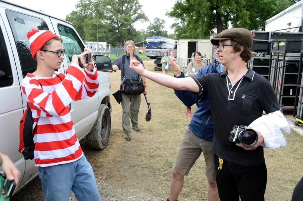 Ben Folds finding Waldo in 2012.