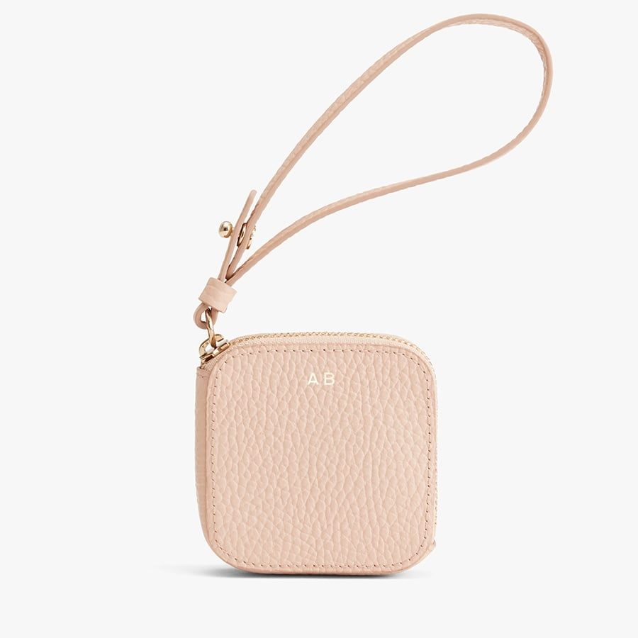 Cuyana Leather Airpod Case