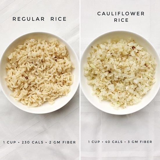 Cauliflower Rice vs. Regular Rice Calories