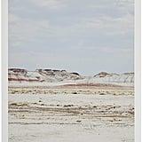 Rivet Arizona Desert Sand Horizon Photo With Wood Hanger