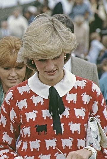 Warm & Wonderful's Princess Diana Sheep Jumper Collection