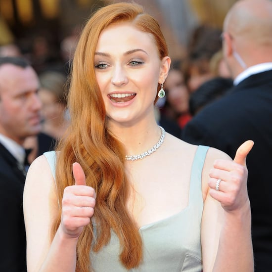 Sophie Turner Talks About Game of Thrones at the Oscars