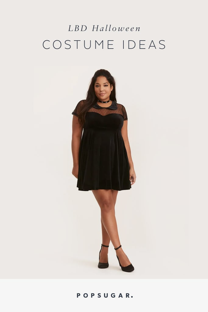 Halloween Costume Ideas With A Black Dress Popsugar Fashion