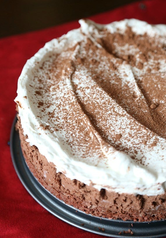 Sugar Wafer Chocolate Mousse Pie