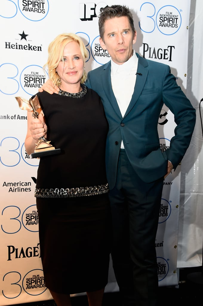 Ethan Hawke and Patricia Arquette