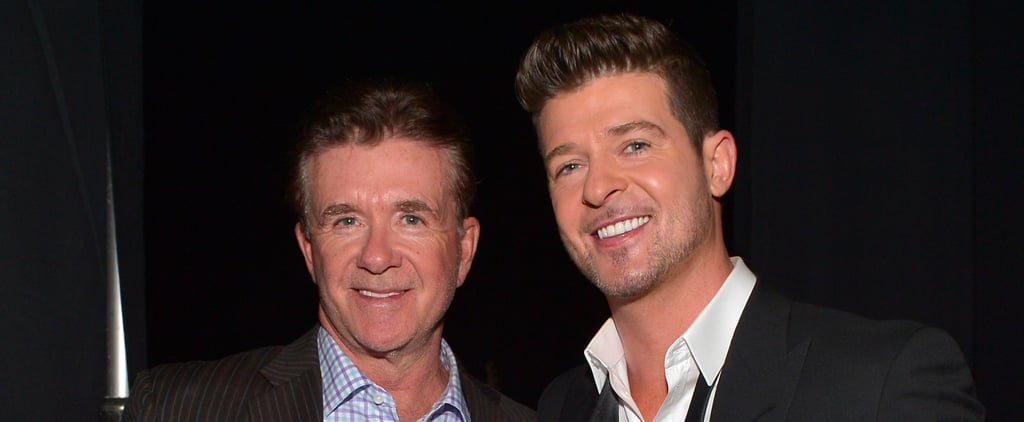 Robin Thicke's Quotes About Dad Alan's Death