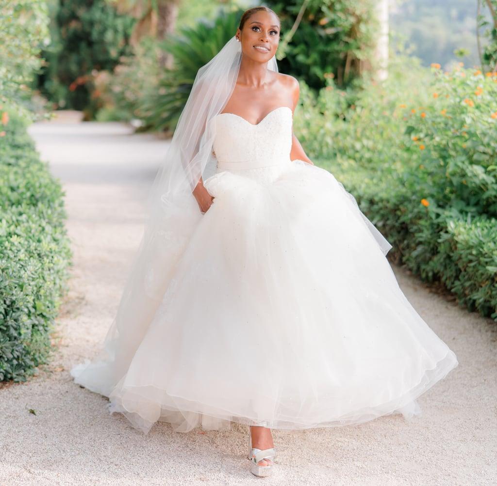 See Issa Rae's 2 Vera Wang Haute Wedding Dresses