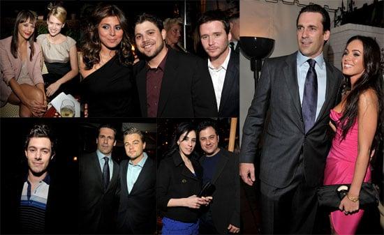 Photos Inside of GQ Man of the Year Party Including Leonardo DiCaprio, Jon Hamm, Zac Efron, Adam Brody, January Jones, Megan Fox
