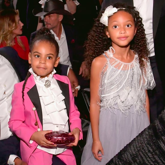 Who Was Blue Ivy Carter's Friend at the 2017 Grammys?