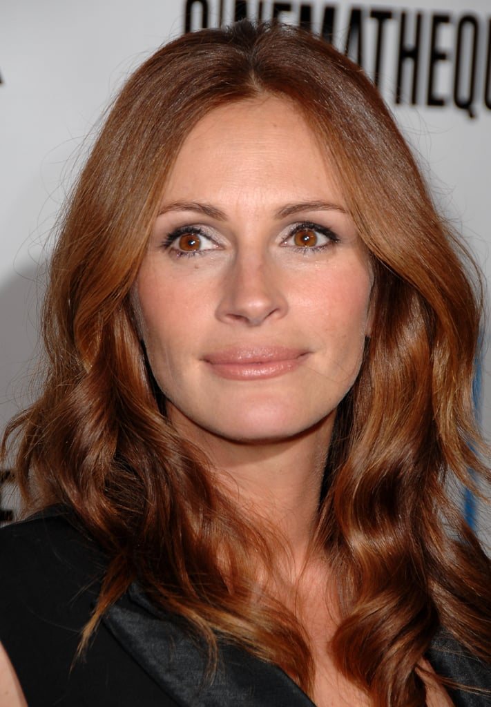 Julia Roberts With Red Hair in 2007