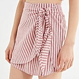 Billabong X Sincerely Jules Beyond The Palm Wrap Mini Skirt