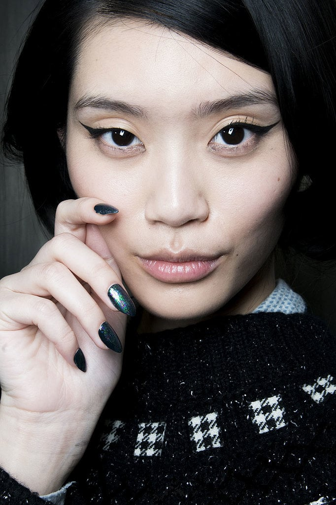 Winged Eyeliner Beauty Looks at New York Fashion Week ...