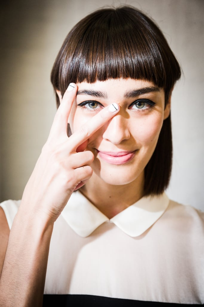 Linear Nail Art Trend