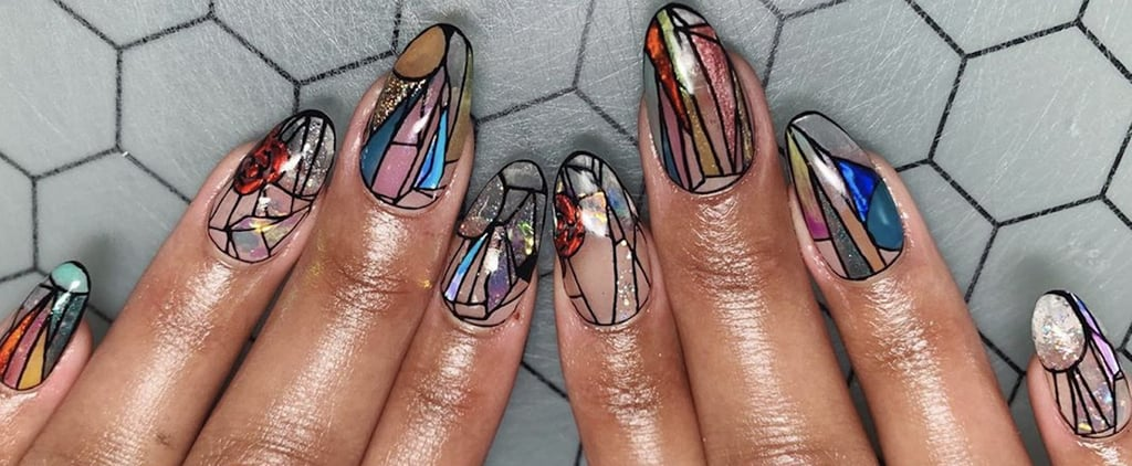 Stained-Glass Nail Art Trend | 2020