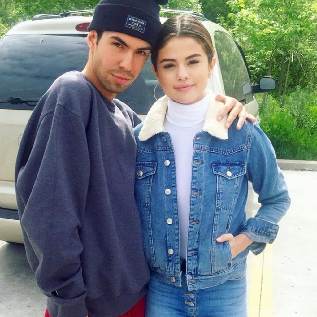 Selena Gomez Denim Jacket May 2017