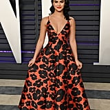 Camila Mendes at the 2019 Vanity Fair Oscar Party