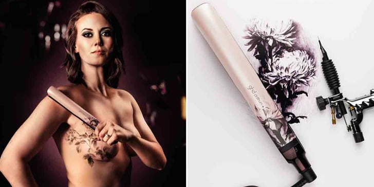 Mastectomy Tattoos in GHD Ink on Pink Campaign | POPSUGAR Beauty