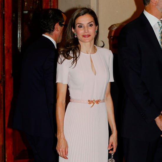Queen Letizia Dragonfly Belt June 2017