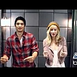 Harry Shum Jr. and Heather Morris From Glee Teach You How to Dougie | On Air With Ryan Seacrest