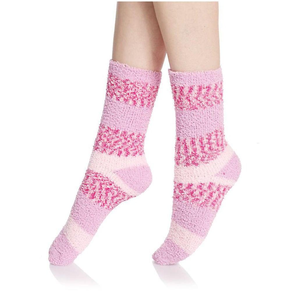 Ellen Tracy Fuzzy Mid-Calf Socks Set ($8, originally $22)