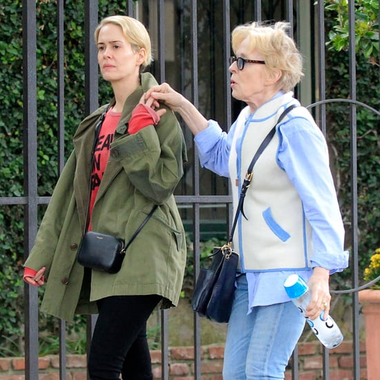 Sarah Paulson and Holland Taylor Out in LA June 2016