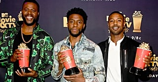 The Men of Black Panther Show Up Looking Fly as HELL at the MTV Movie and TV Awards