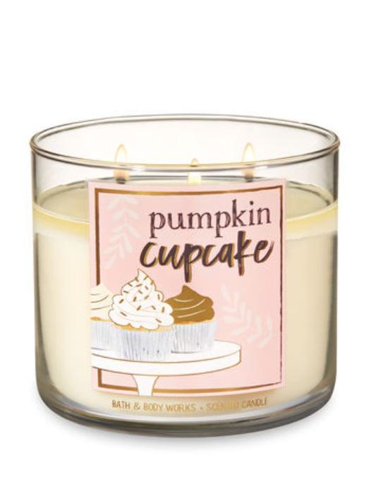 Pumpkin Cupcake Three-Wick Candle