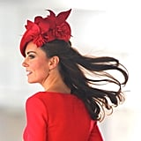 12. Kate Middleton's Flowing Strands