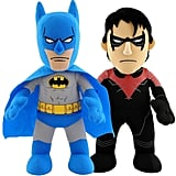 DC Universe Dynamic Duo 10-in. Plush Figures Batman & Nightwing Set by Bleacher Creatures