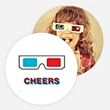 Paper Culture 3D Glasses Card