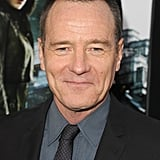 Bryan Cranston smiled at the Total Recall premiere in LA.