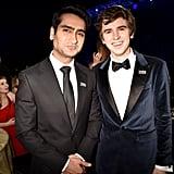 Pictured: Kumail Nanjiani and Freddie Highmore