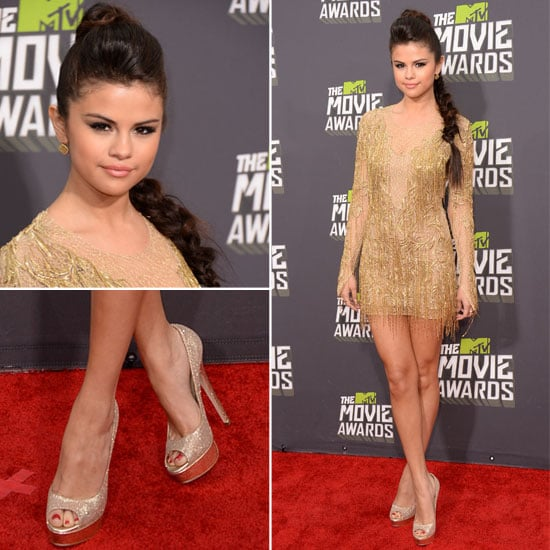 Selena Gomez in Julien Macdonald at 2013 MTV Movie Awards