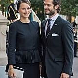 The couple looked the part at the September 2014 opening of the Swedish parliament in Stockholm.