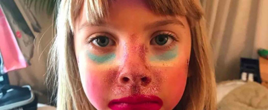 Pink's Daughter Rocked Some Serious Unicorn Makeup to Her Mom's Show — and Can She Do Ours, Too?