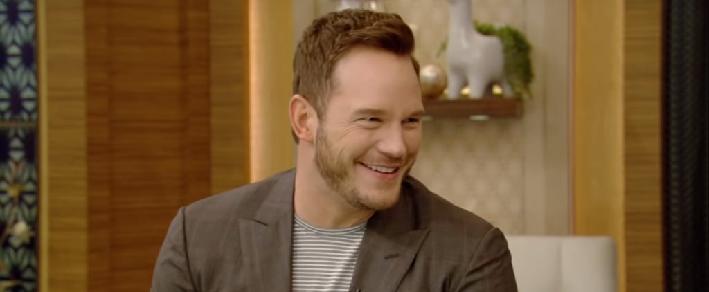 Chris Pratt Talks About Son on Live With Kelly and Ryan 2018