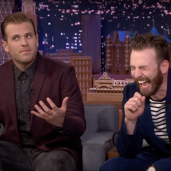 "Chris and Scott Evans Play ""Know Your Bro"" on Jimmy Fallon"