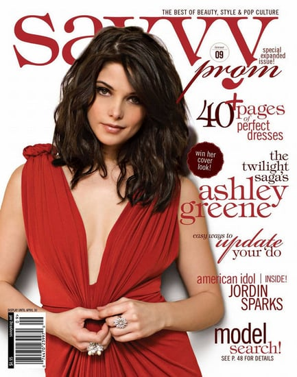 Ashley Greene does Savy-february 2010