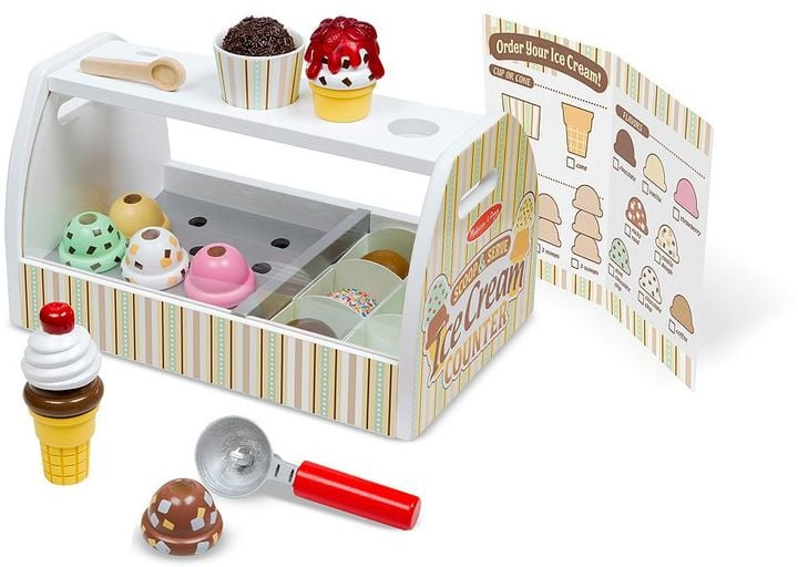 For 3-Year-Olds: Melissa & Doug Scoop & Serve Ice Cream Counter
