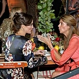 Pippa Middleton talked to Kate Cecil.