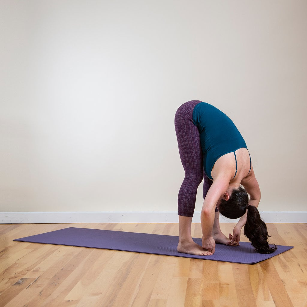 Standing Forward Bend   Energise Your Body and Brain With