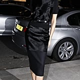 Victoria Wearing Her Fall 2013 Collection