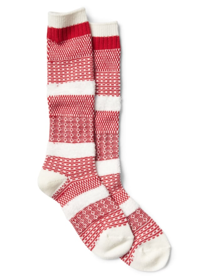 Gap Patchwork Knit Knee High Socks Cheap Stocking Stuffers From
