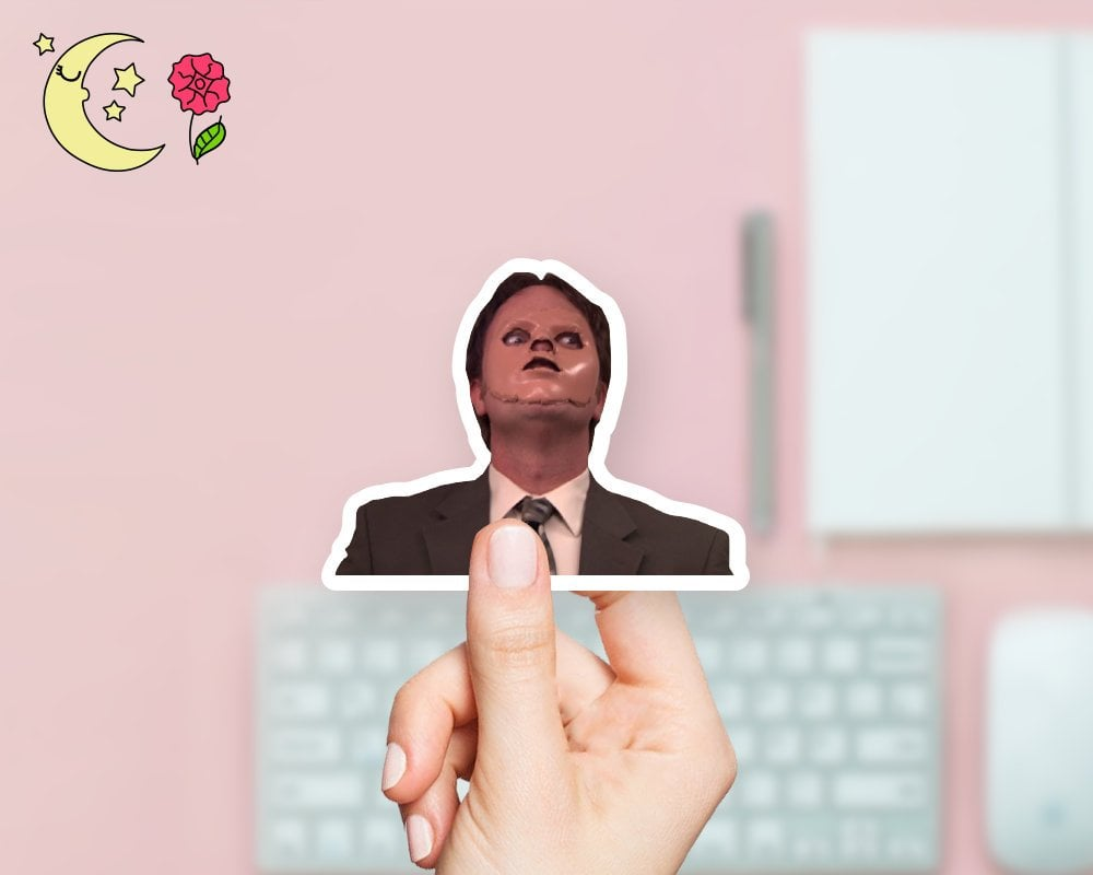 Dwight Mask Sticker