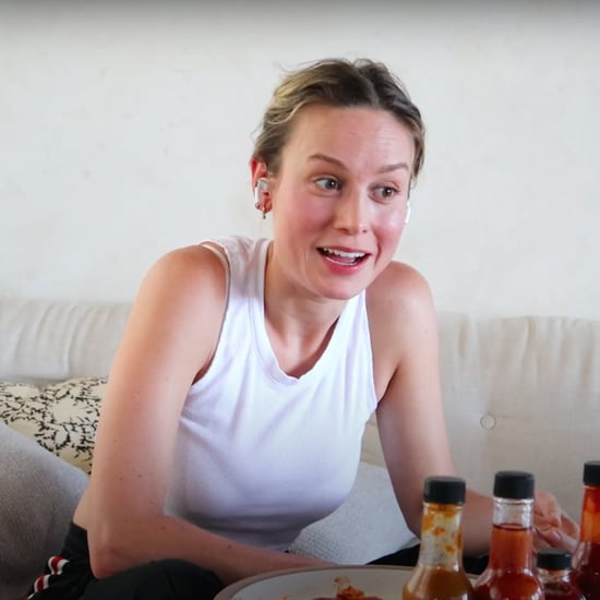 Watch Brie Larson's Hot Ones Interview