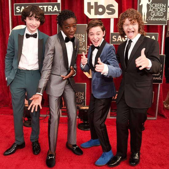 Stranger Things Cast at the 2017 SAG Awards